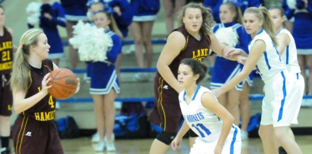 Freshman Lady Hornets ride defense to victory