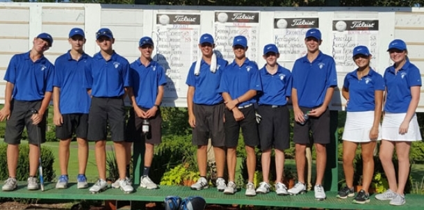 Bryant golfers take top honors in dual match
