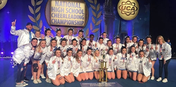 BHS Varsity Cheer captures UCA National crown