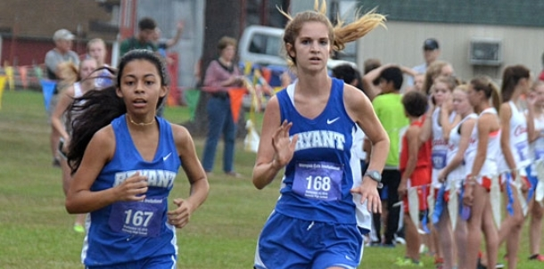Lady Hornets third at Conway meet