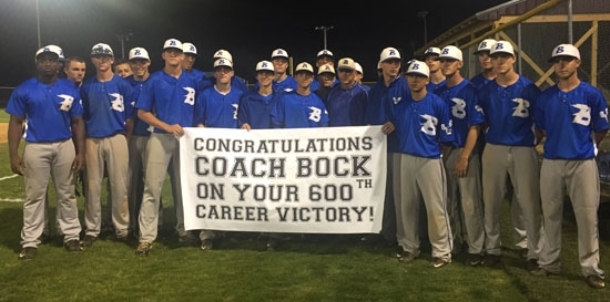 Hornets' sweep includes Bock's 600th win