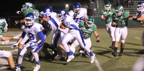 Hornets power past Pointers, 49-16; secure trip to playoffs