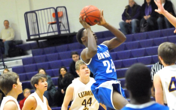 Freshman Hornets steal away comeback win at Catholic