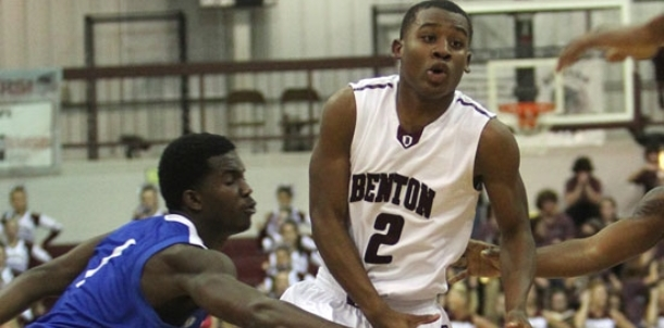 Benton withstands Bryant upset bid