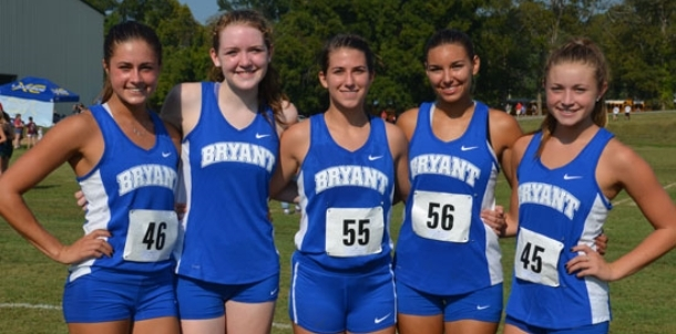 Bryant girls close second in both races Saturday