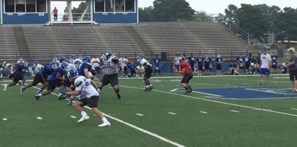 BHS football team completes first week of fall camp