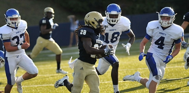Hornets learn hard lessons in scrimmage at Pulaski Academy