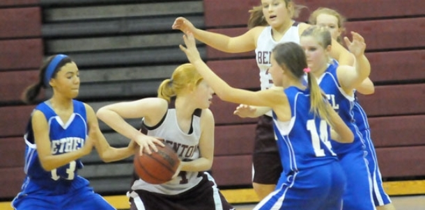 Second-half run lifts Bethel girls past Benton