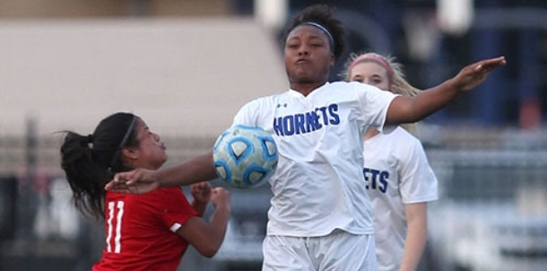 Hornets face Van Buren; Lady Hornets take on Rogers at State soccer tourney