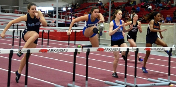 Lewis' MVP performance paces Lady Hornets' effort at State Indoor