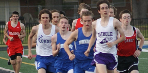 Bryant harriers win Conway meet; take fifth at Benton