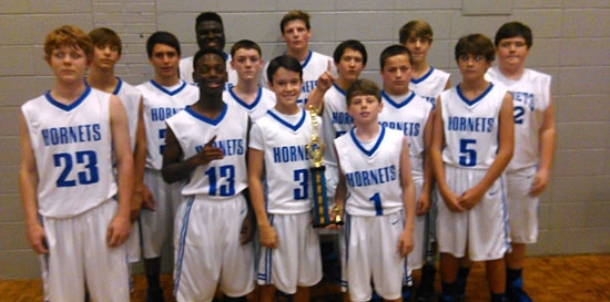 White Hornets capture tournament championship