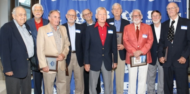 Bryant Athletic Hall of Honor celebrates first class of inductees