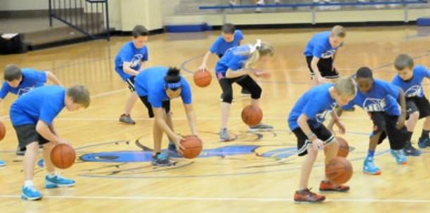 Hurricane Creek Elementary Teams of Tomorrow workout