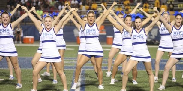 BHS cheer 2015