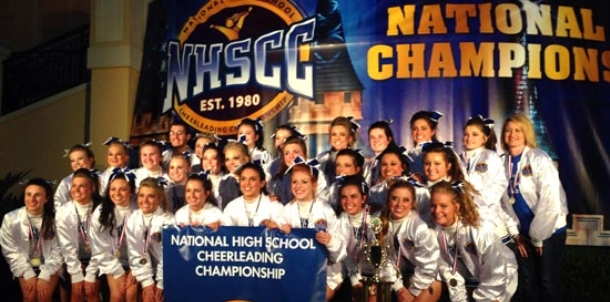 BHS Cheer captures National title