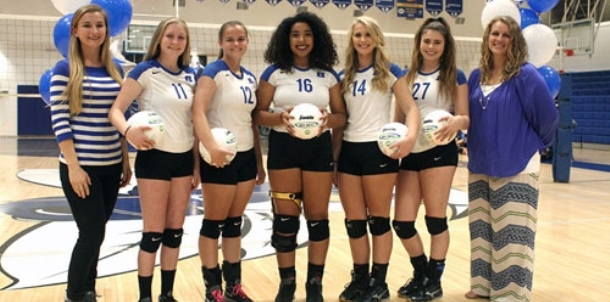 Lady Hornets celebrate Senior Night despite setback