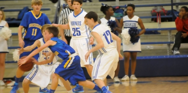 Hornets' eighth grade team earns win over Sheridan