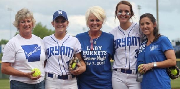 Lady Hornets honor teachers, players on Senior Night