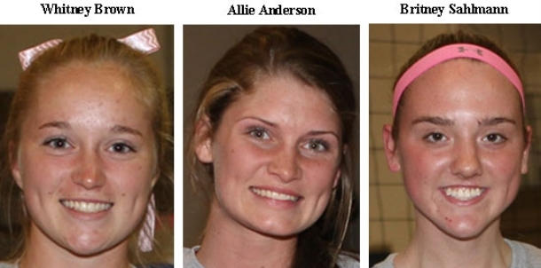 Lady Hornets' trio chosen for post-season honors