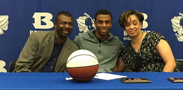 After four years with Hornets, Martin signs up for four at Harding University