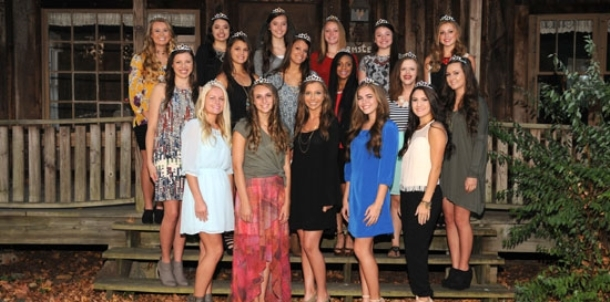Maids named for 2015 Homecoming court at BHS