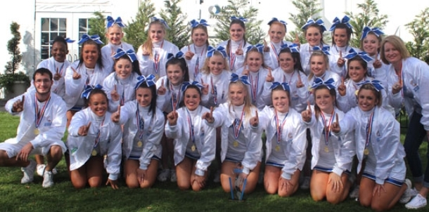 BHS cheer team 1st in World's, 6th at National's in Orlando