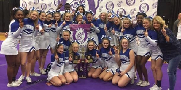Freshman cheerleaders earn top honors