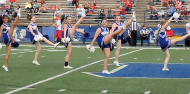 Bryant Middle School cheer, dance