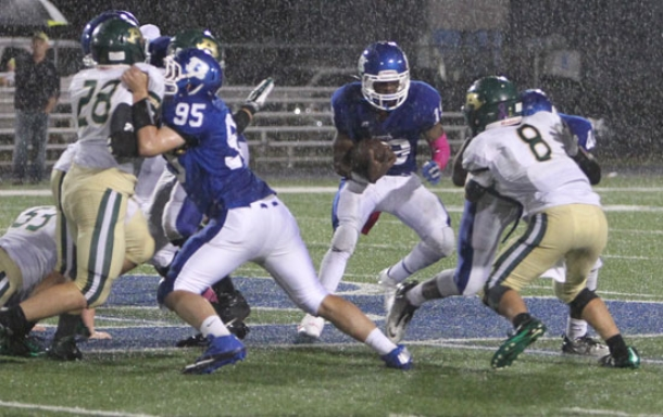 Hornets fend off Airedales after lightning delay