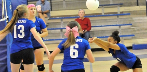 Eighth-grade volleyball: Lady Hornets vs. Lady Warriors