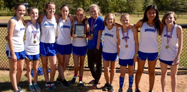 Varsity girls finish second; junior high takes top honors at home meet