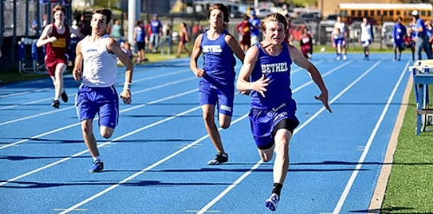 Middle school boys excel at home meet