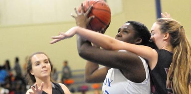 Freshman Lady Hornets handle Benton challenge