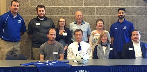 Ballew signs to continue education, soccer career at CBC