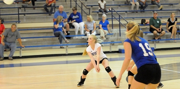 Freshman girls earn two-set win over Russellville