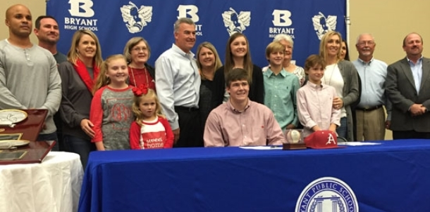 Razorbacks get a top hitter and pitcher in Bryant's Lee