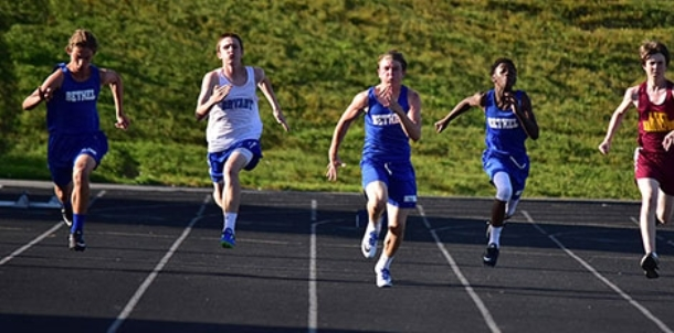 Middle school boys perform well in final meet