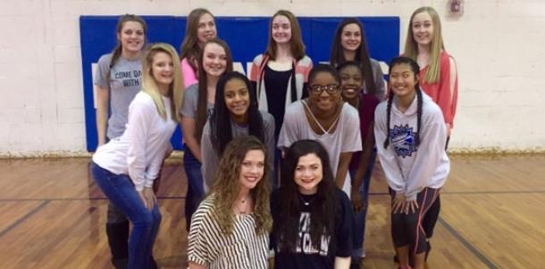 2016-17 Bryant varsity dance team