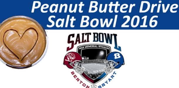 Salt Bowl Peanut Butter Drive for Arkansas Food Bank begins Aug. 22