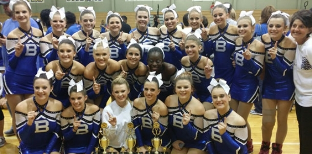 Bryant dance teams excel at Sheridan Invitational