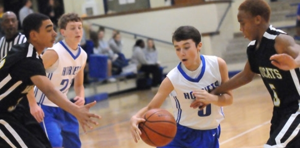 Wildcats surge to win over Bethel in eighth grade game