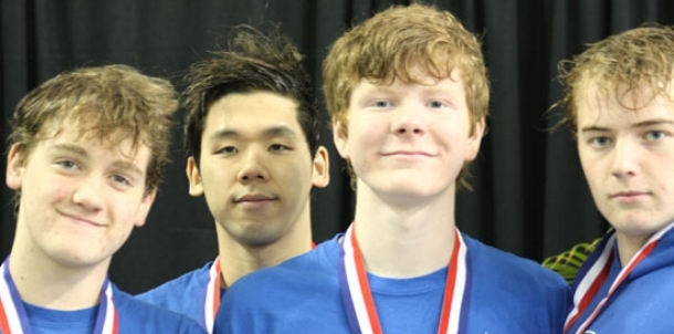 Kang wins two events at State as Hornets finish eighth