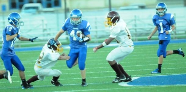 Bethel B team whips Wolves in eighth grade game