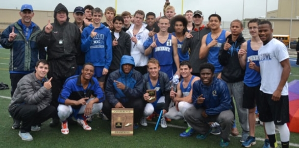 Bryant boys capture conference championship in dominant fashion