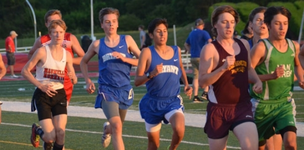 Freshman Barrientos shines for BHS at Meet of Champs