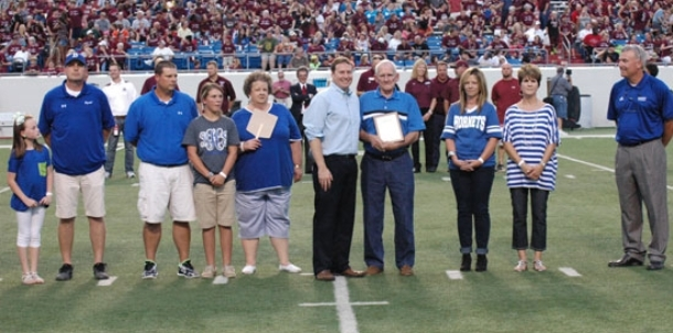 Community Support award presented to Thompson