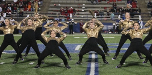 Varsity Dance team's Homecoming performance