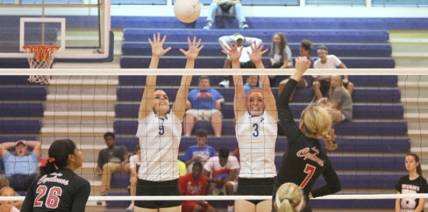 Hard-hitting Russellville sweeps match with Lady Hornets