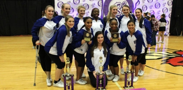 BHS dance team takes top honors at Maumelle Invitational